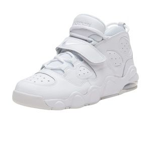 Nike Air CB 34 Charles Barkley Triple White New